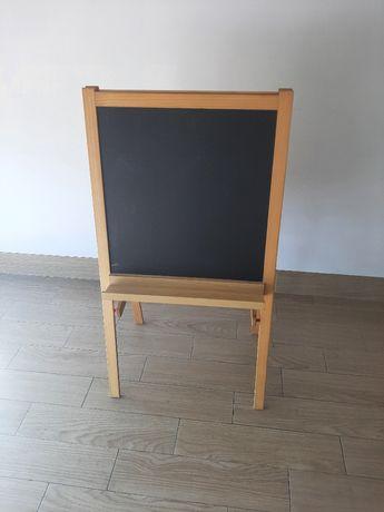 Cavalete, madeira conífera/branco