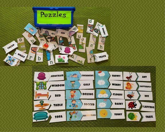Пазли англійська мова english puzzles игры на английском для читання
