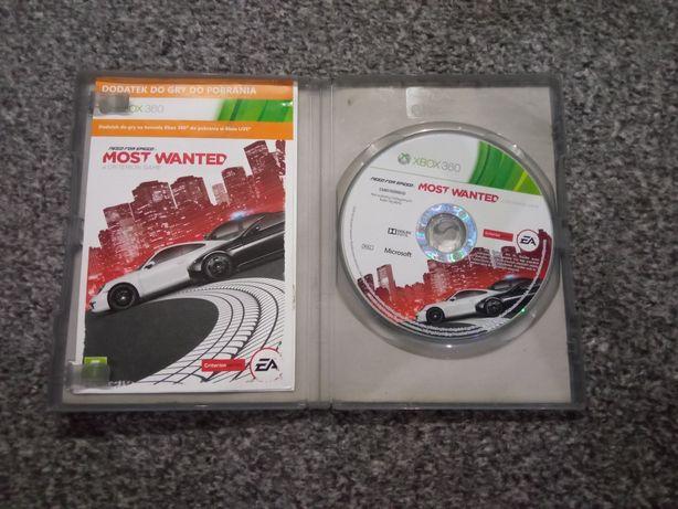 Need For Speed: Most Wanted Xbox 360 w polskiej wersji językowej