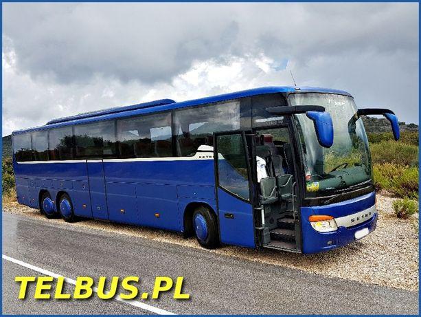 Wynajem autokarów autobusów busów - Przewóz Osób Bydgoszcz