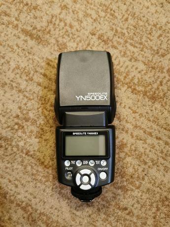 Nowa Lampa Błyskowa Speedlite YN500EX do Canon