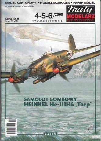Samoloty bombowe II wojna światowa - modele kartonowe