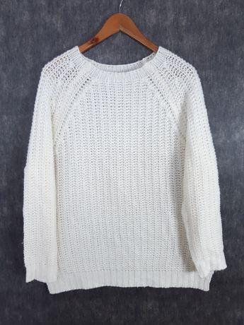 Sweter 3XL damski biały