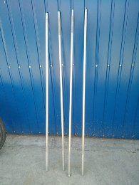 Sztyce aluminiowe do badania dna zestaw 4x150cm plus stukadełka