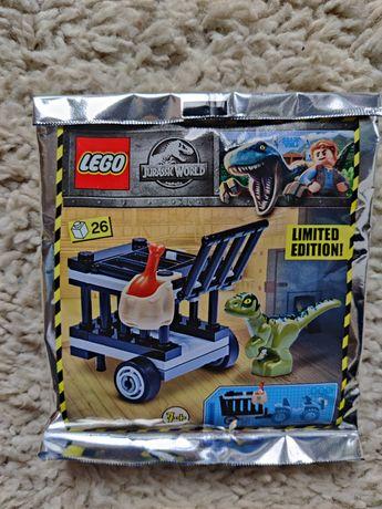 Lego Jurassic World 122010 Klatka transportowa raptora