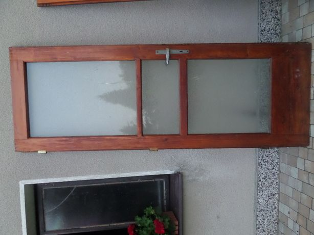 drzwi drewniane modrzewiowe