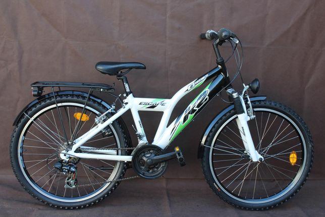 """Piękny ALU Rower Junior """"K2"""" Koła 24'' 21 Przełożeń"""