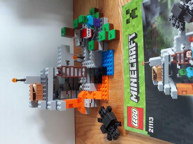 Klocki lego minecraft 21113 The Cave *Stan Idealny*