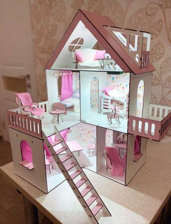 Кукольный домик LOL, Модный Особняк для кукол до 20см