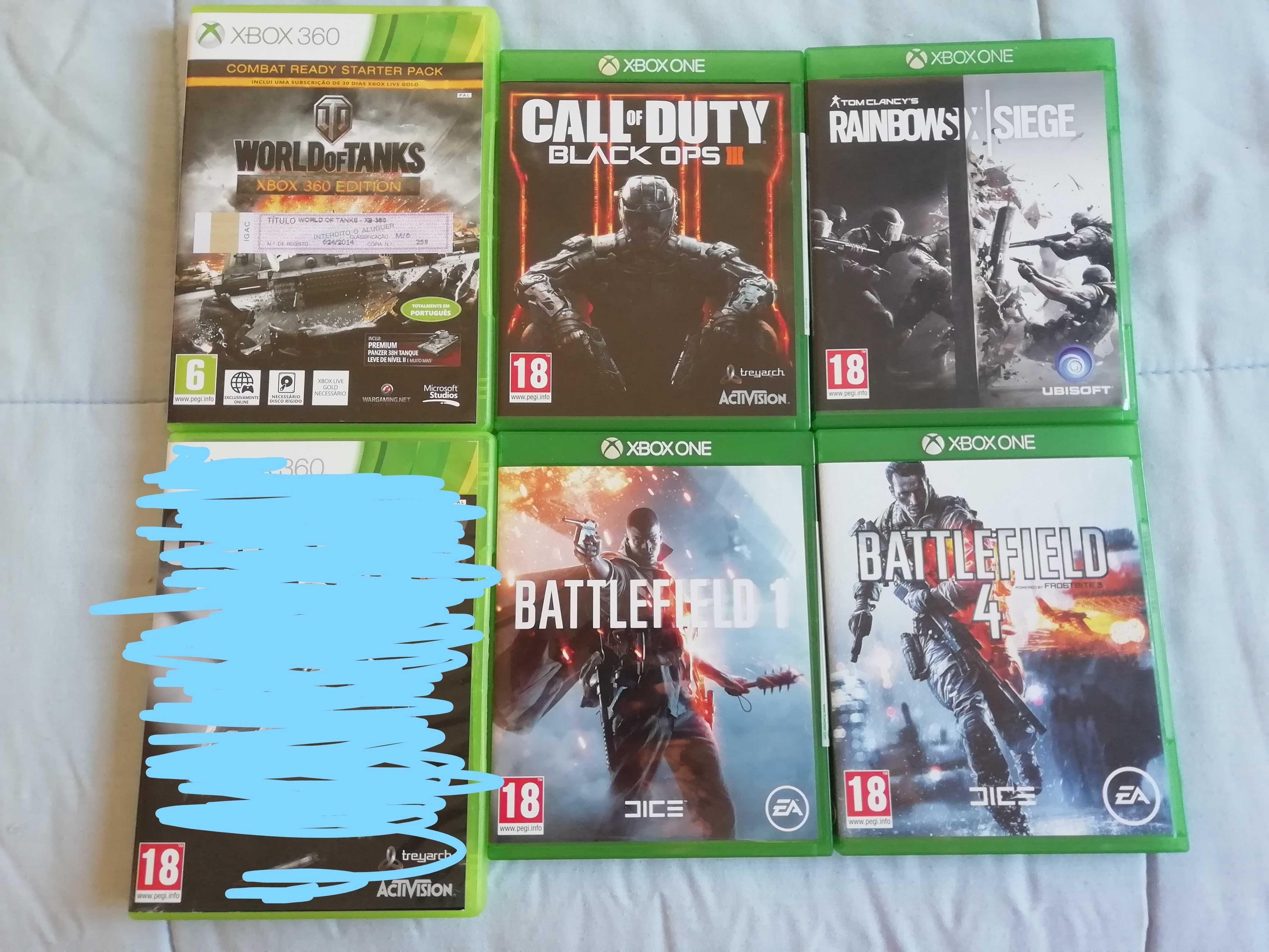Jogos Xbox One, xbox series x e Xbox 360