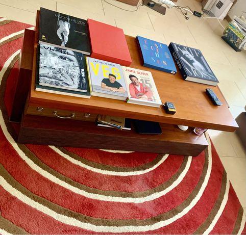 Mesa de centeo para sala