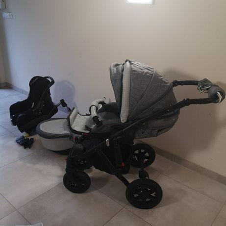 Wózek nosidełko fotelik baza ADAMEX BARLETTA MAXI cosi ISO FIX