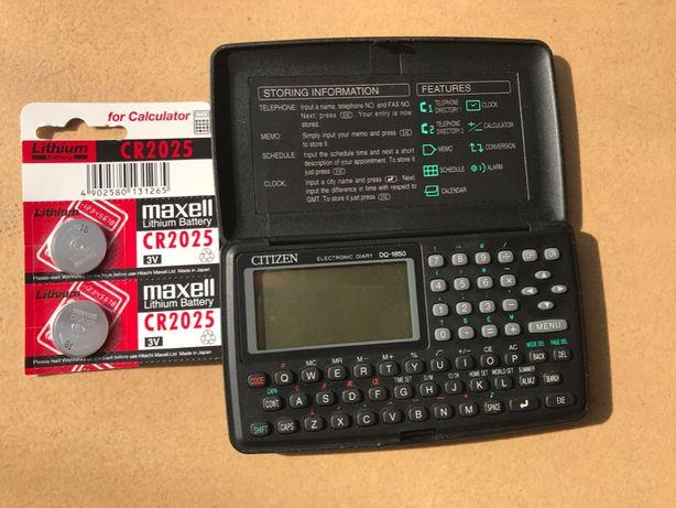 Kalkulator Citizen DQ-1850 naukowy inżynierski notes elektroniczny