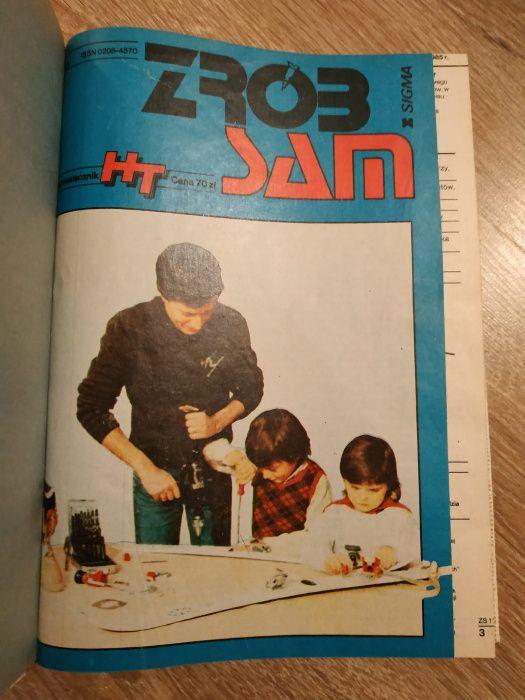 """""""Zrób sam"""" dwumiesięcznik rok 1985 (6 zeszytów oprawionych razem) Bojano - image 1"""