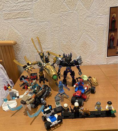 Набор Lego Super Heroes,Ninjago,CITY,Bionicle,Chima