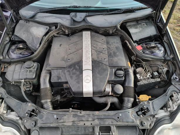 silnik 2,6 V6 170 KM, skrzynia automatyczna, wszystkie części w203