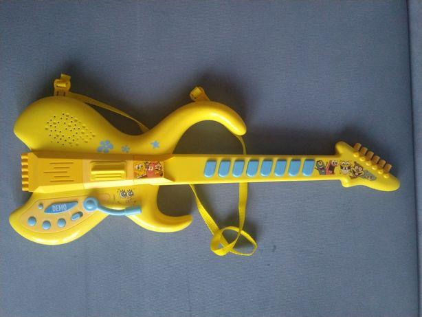 Гитара детская Спанч боб