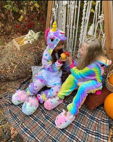 ДЕТСКИЕ и ВЗРОСЛЫЕ Пижамы кигуруми! Корова, Мышь, Дракон (зеленый)
