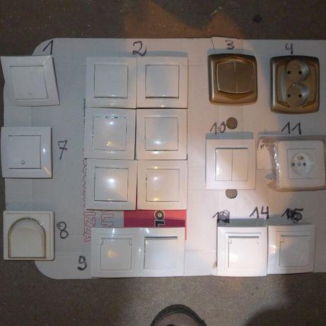 Włączniki Oświetleniowe i Gniazda Elektryczne