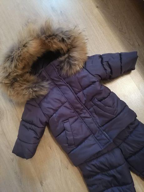 Продам зимний комбинезон, куртка, натуральный мех