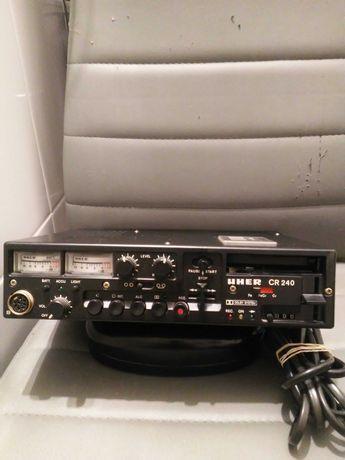 Kolekcjonerski Magnetofon Reporterski UHER CR 240