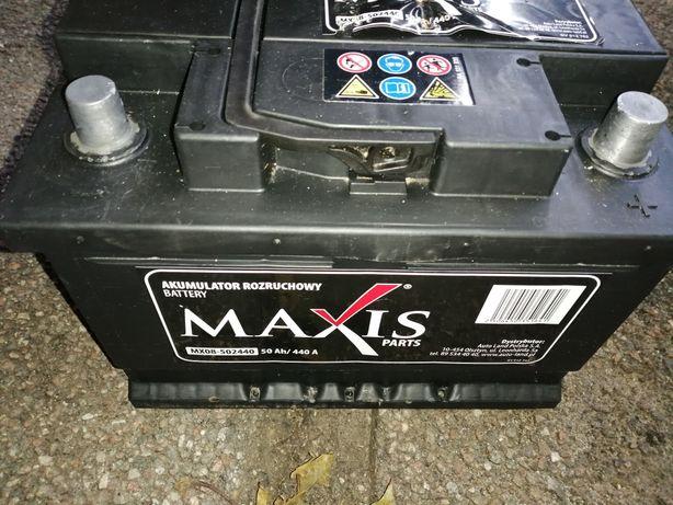 Sprzedam sprawnny akumulator Maxis 12V50ah.440A