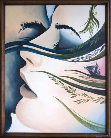 "Картина ""Морской поцелуй"""