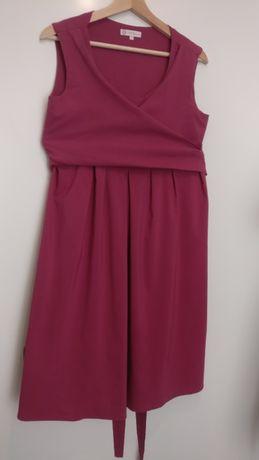 Elegancka sukienka ciążowa, karmienie piersią roz. L TORELLE Zurina