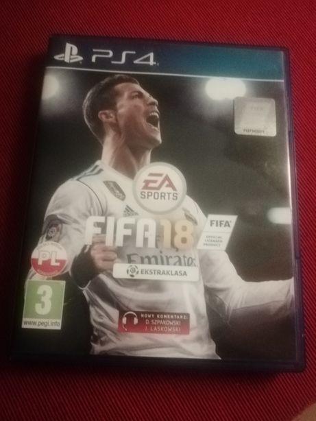 Gra FIFA 18 na Ps4!