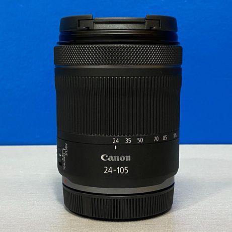 Canon RF 24-105mm f/4-7.1 IS STM (NOVA - 2 ANOS DE GARANTIA)