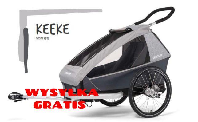 PROMOCJA Croozer Przyczepka rowerowa Keeke