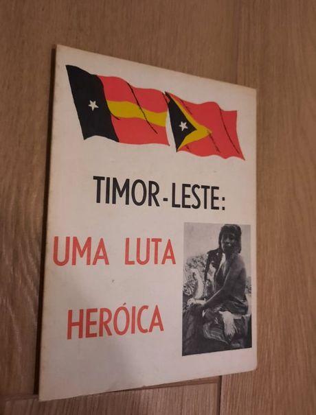 Livros sobre Timor (conjunto ou separado)