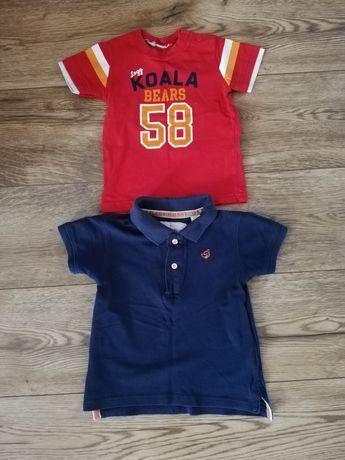 Koszulki Zara dla chłopca rozm. 86