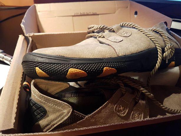 Antypoślizgowe buty - Khaki 43