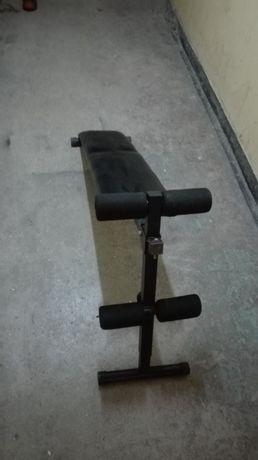 Ławka skośna do ćwiczeń brzuszków treningowa