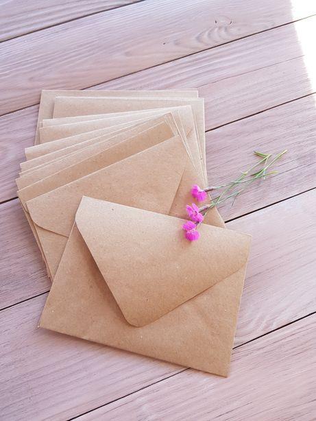 Крафт конверт