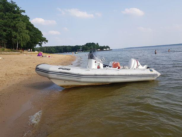 Łódź RIB ZODIAC PRO OPEN 550 Evinrude e-tec 90 ponton jacht