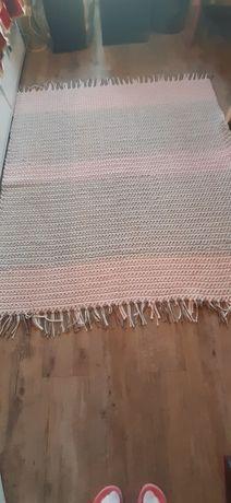Dywan sznurkowy ręcznie robiony