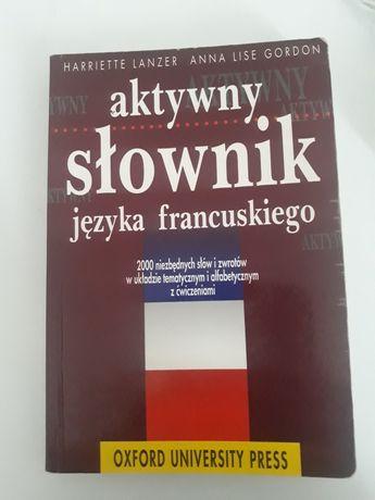 Aktywny słownik języka francuskiego