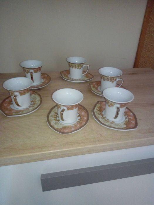 Stary zestaw kawowy PIĘKNY. Radomsko - image 1