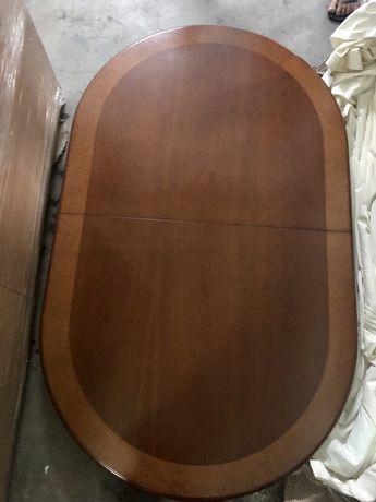 Mesa Jantar 6 cadeiras cerejeira