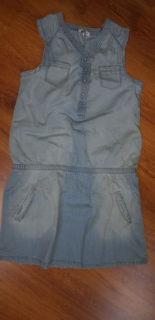Sukienka jeansowa roz.146 tex