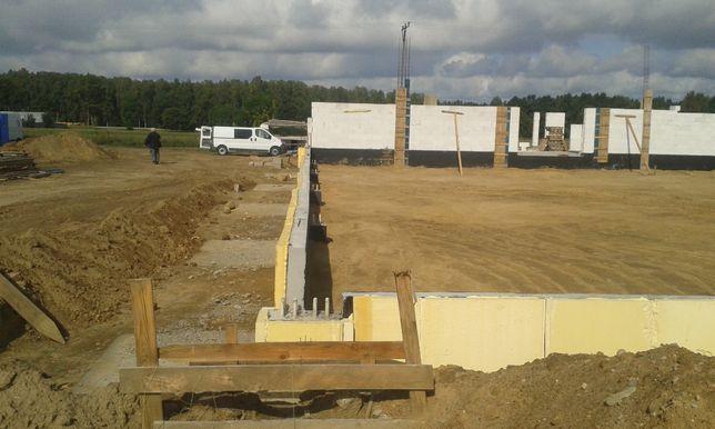 fundamenty dach posadzka ocieplenie Pianka PuR izolacja płyty II GATUN