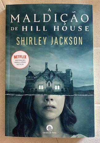 Livro A Maldição de Hill House, de Shirley Jackson