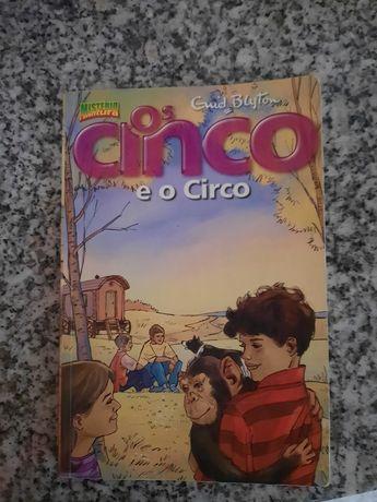 Os cinco e o circo Livro