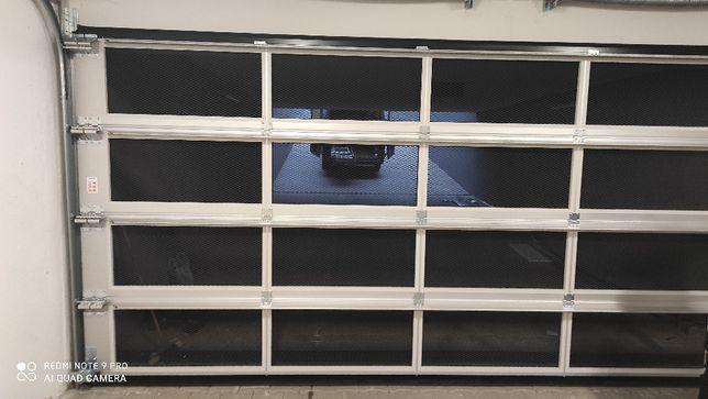 Brama garażowa segmentowa, szer 534 cm, KRISPOL, OKAZJA! stan BDB