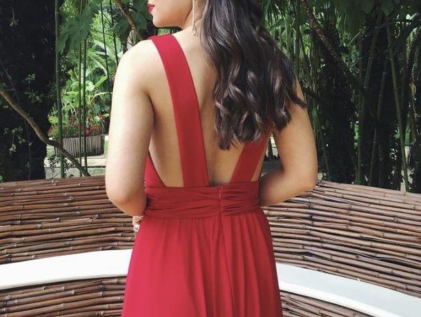 Vestido Cerimónia Vermelho