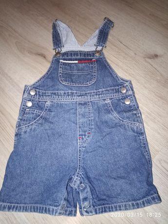 Комбинизон джинсовый фирменный в идеальном состоянии