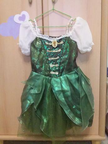 Новогоднее платье на девочку 7-8 лет