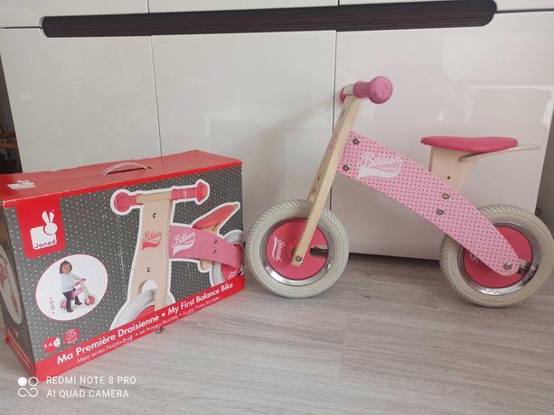 Rowerek biegowy dla dziewczynki firmy Janod